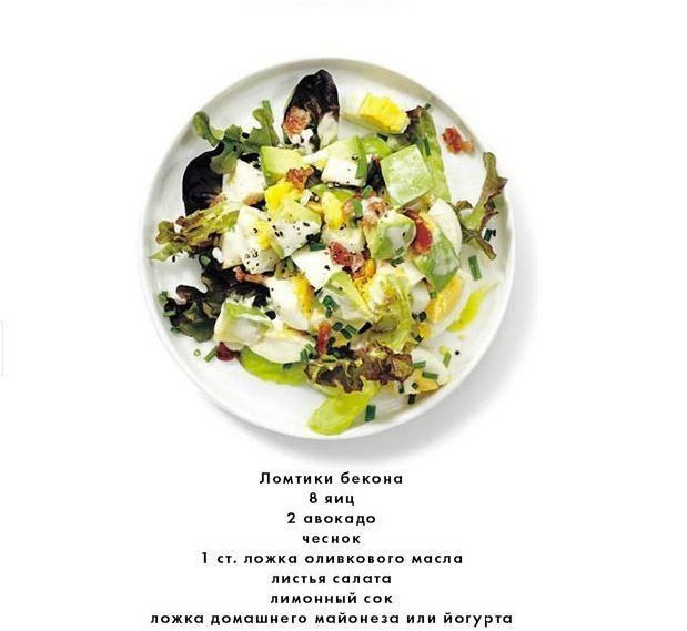 Подборка рецептов с авокадо