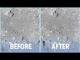 OSIRIS-REx Leaves its Mark on Bennu