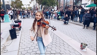 Dance Monkey - Tones and I - Street Performance - Violin Cover