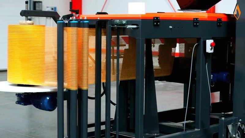 Весовой дозатор WPM 50-2T и машина для упаковки в сетку RM-30 MICHALAK