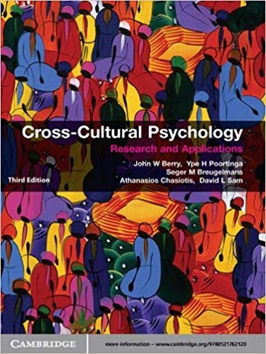 Cross-Cultural Psychology Research and Applications