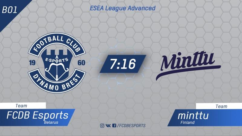 FCDB vs minttu ESEA League Advanced Kom
