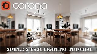 Corona Renderer Lighting Tutorial