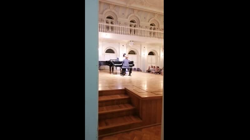 Рахманиновский зал Московской государственной консерватории им П.И.Чайковского.