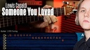 Someone You Loved Lewis Capaldi 🎸 TABS CHORDS Christianvib Guitarra Cover
