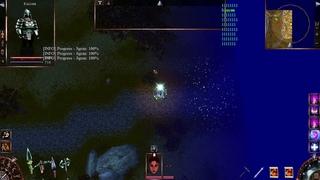 Проклятые Земли Classic-mod . Убийство Людоеда-вождя с одного удара