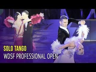 Solo Tango = WDSF Professional Division Open Final