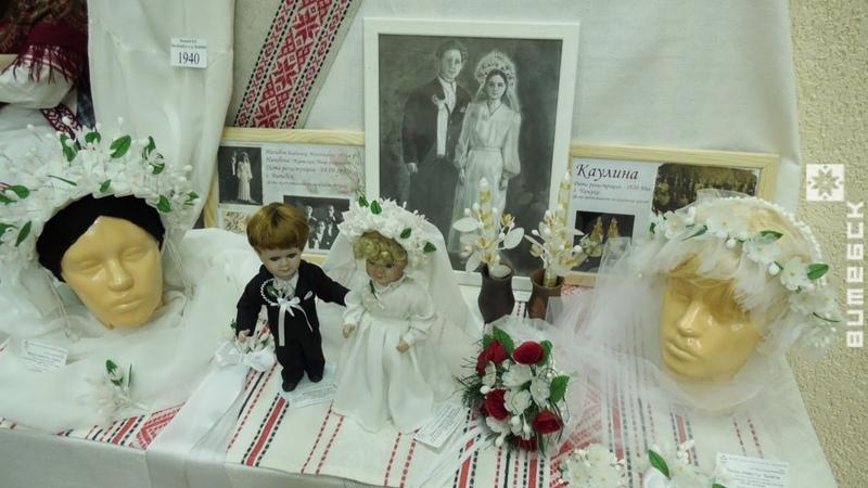 Столбовой обряд белорусской свадьбы возрождают под Витебском (11.02.2020)