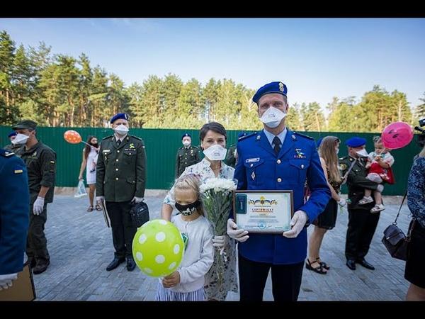 Військовослужбовці Нацгвардії отримали сертифікати і ключі від нових квартир під Києвом