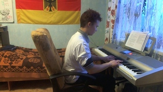 A bunch of different piano covers lasting for 40 minutes