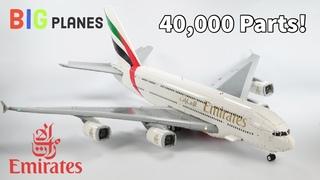 LEGO Emirates Airbus A380 Superjumbo! Full interior, 7 Foot Wingspan, Over 40,000 Parts!