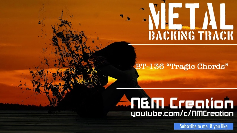 Sad RockMetal Ballad Backing Track in Cm (Drop C) | BT-136