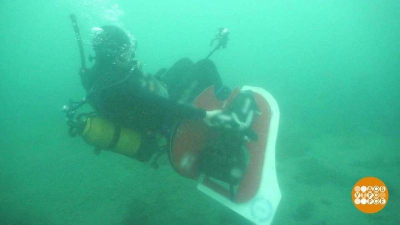 Подводное кресло Барракуда Доброе утро Фрагмент выпуска от09 10 2020