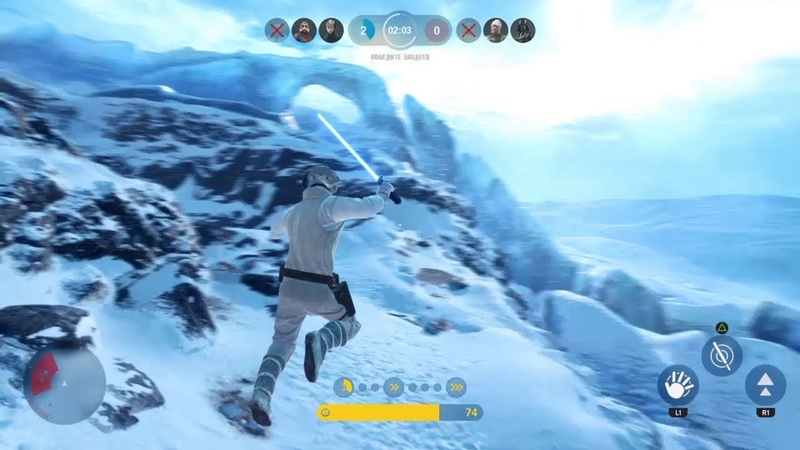 Star Wars Battlefront™ - Han, Luke and Chewie gameplay | Heroes vs Villains