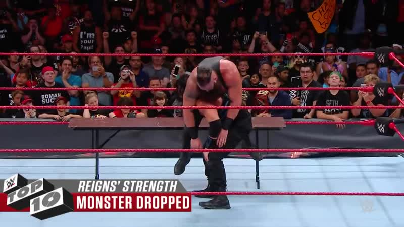 Roman Reigns powerful displays of strength_ WWE Top 10, May 20, 2019
