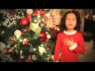 """All I Want For Christmas is You - 7 yr old Rhema  Amazing - plz """"Share"""""""