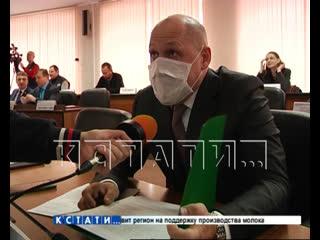 Кремлевская защита - депутат гордумы пришел на заседание в маске