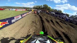 GoPro HD: Ryan Villopoto Moto 2 - Unadilla MX Lucas Oil Pro Motocross Championship 2013