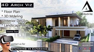 3000   Modern House Full Design & Tour by 4D Arch Viz