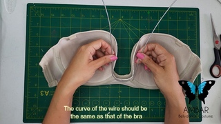 Como crear un sostén similar al corpiño egipcio / How to create a bra similar to the Egyptian bra