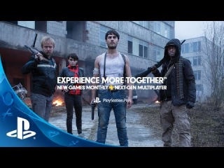 Official PlayStation Plus Experience More Together Commercial