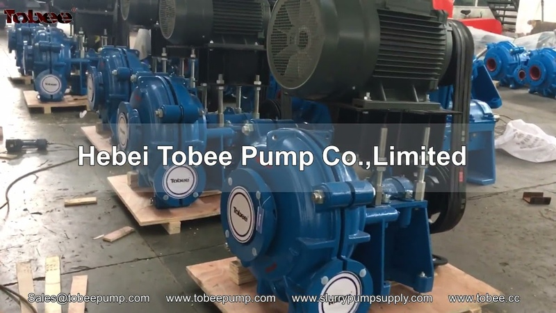 Tobee® 6x4D AH slurry pumps and spares manufacturer from China