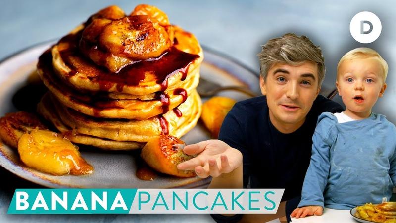 RECIPE Noah's Banana Pancakes SKEHAN SON Cooking