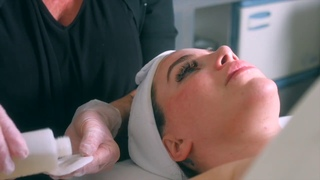 $300 Facial with Cool Laser and Dr Belter skincare line ASMR