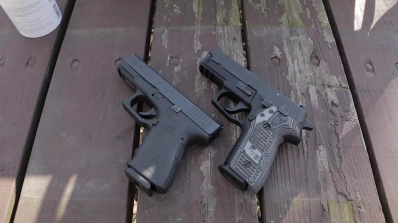 Сиг Р229 и Глок 19 Какой из них вы предпочитаете Sig P229 vs Glock 19 Which one do you prefer