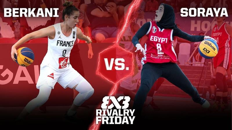 BEST HANDLES in 3x3 women's game Soraya vs Berkani FIBA 3x3 Rivalry Friday