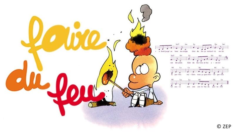 Henri Dès - Faire du feu - chanson pour enfant