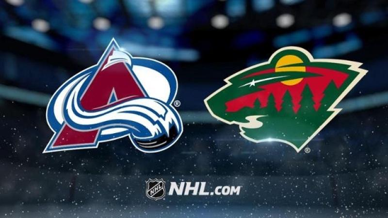 НХЛ регулярный чемпионат Миннесота Уайлд Колорадо Эвеланш 1 5 0 1 1 1 0 3