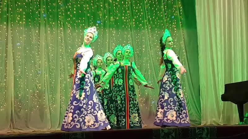 танцевальный коллектив Версаль танец Реченька ДК с Мурзицы
