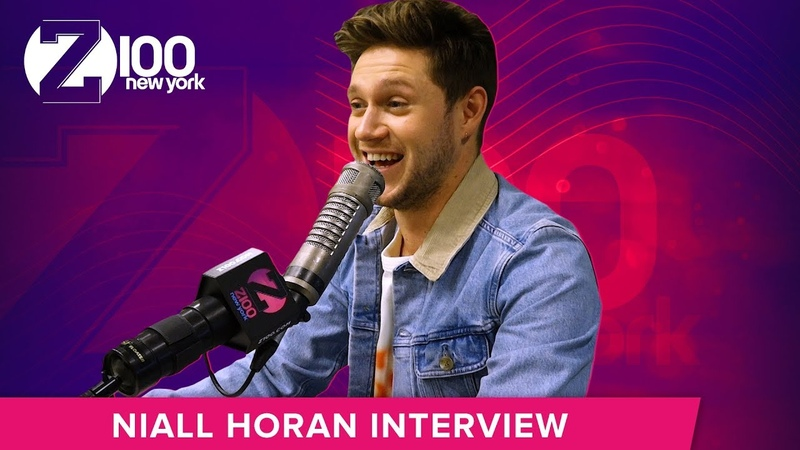 Niall Horan FaceTimes Julia Michaels Mid Interview
