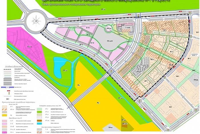 Планы застройки двух микрорайонов обсудили на архитектурно-градостроительном Совете