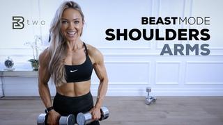 День 2: Плечи и руки - Интенсивная тренировка верхней части тела. BEASTMODE SHOULDERS AND ARMS - Intense Upper Body Workout   Day 2