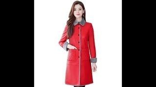 Осенне зимняя женская меховая кожаная длинная куртка кожаная меховая куртка размера плюс женские пальто высококачественная