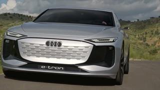 Audi A6 e tron concept 2023 DRIVE & SOUND CRAZY ELECTRIC