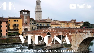 Verona Italy 🇮🇹 Walking Europe in 4k Dji Osmo Pocket