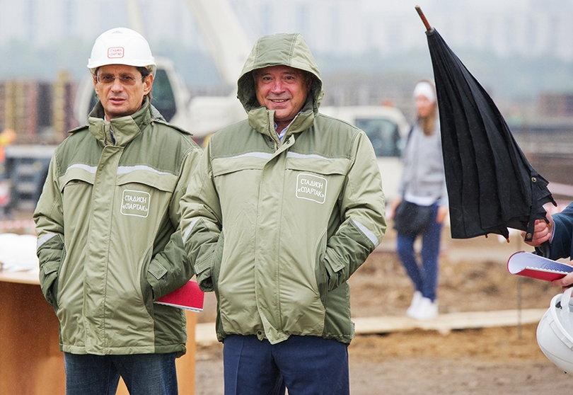 Леонид Федун и Вагит Алекперов