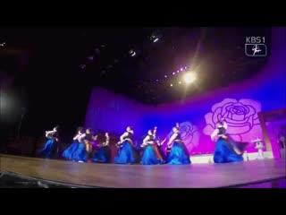 Korean sword dance performed by chungnam arts high school students