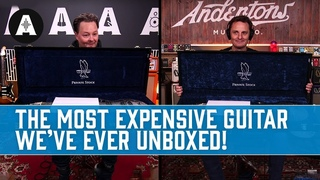 The Most Expensive Guitar We've Ever Unboxed! - PRS Private Stock 35th Anniversary Dragon
