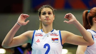 Beautiful and Talented Volleyball Player | Katarina Lazovic (HD)