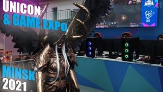 Unicon & Game Expo 2021 Minsk. Vlog-репортаж с фестиваля косплея и выставки игр в Минске