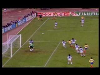 World Cup ITALY 1990   Argentina Vs Romania 1 -1 Part I