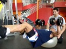 TRX High Intensity Interval Training (HIIT) MMA Training Piga Stabilization Press