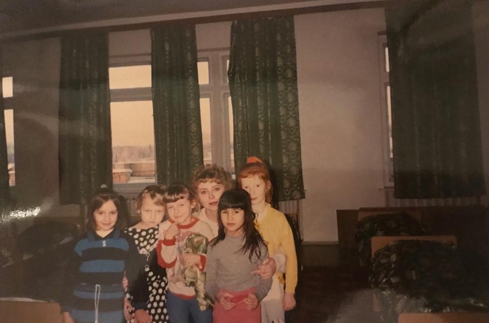 Наталья Владимировна и её воспитанники