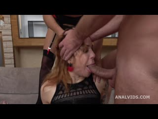 Monika Wild gets submitted with Balls Deep DAP, Gapes, Pee Drink, Domination, Squirt and Swallow GL330