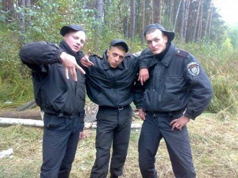 Белорусская милиция в действии