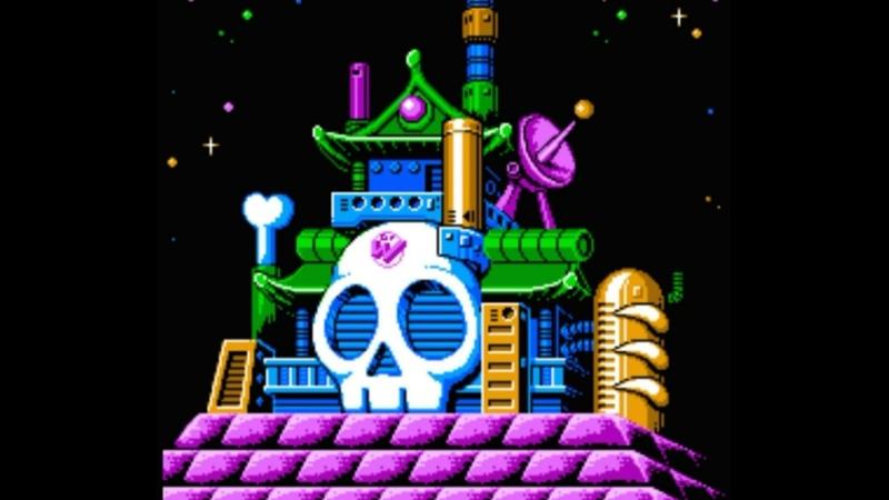 Dendy Famicom Nintendo Nes 8 bit MegaMan RockMan 6 part Battle with Bosses